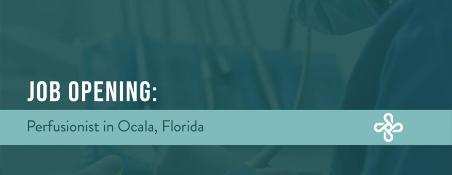 job opening perfusion in Ocala Florida