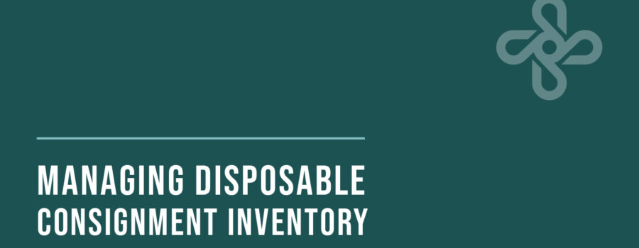 Managing Disposable Consignment Inventory