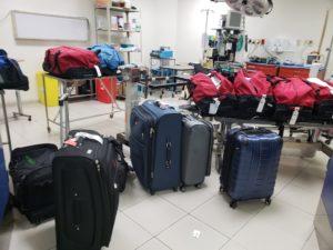 OR room setup in Honduras